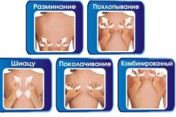 Техника массажа при остеохондрозе