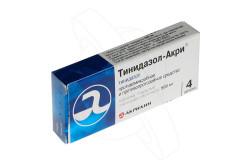 Тинидазол для лечения трихомониаза