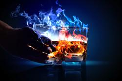 Употребление алкоголя при стрессе