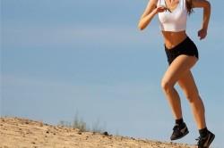 Бег с возвышенности для избавления от насморка