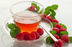 Чай с малиной при гриппе