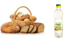 Польза уксуса и хлеба