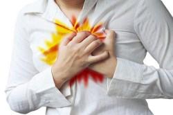 Изжога - один из симптомов гастрита