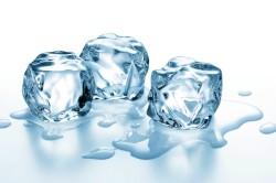 Снятие зуда льдом