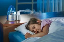 Лечение заложенности носа при помощи влажного воздуха