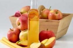 Заживление яблочным уксусом